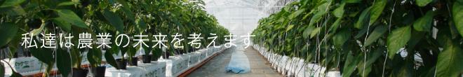 私達は農業の未来を考えます