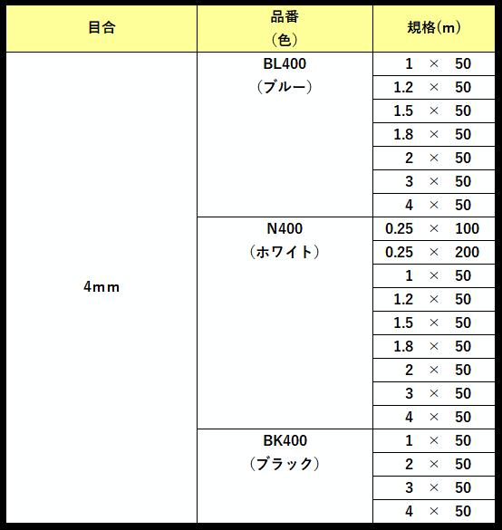 防風網規格3